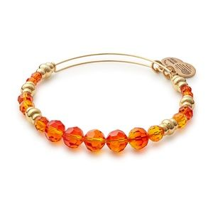 Alex and Ani Beaded Fire NWT